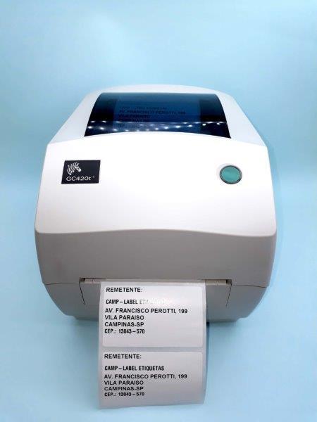 Impressora para etiquetas personalizadas